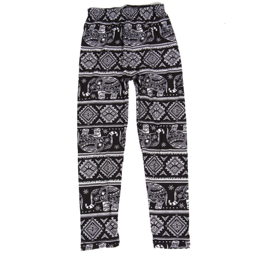Wholesale Y00A NEW MIX Girls print leggingsn Elephant