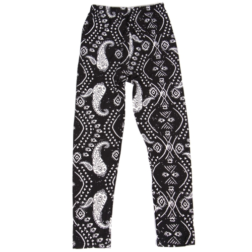 Wholesale Y00C NEW MIX Girls print leggings Feather