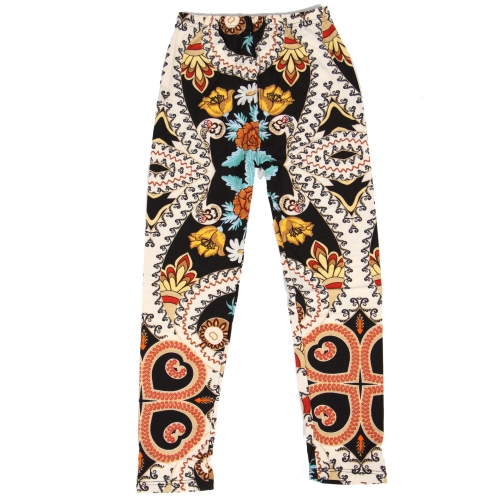 Wholesale Y00D NEW MIX Girls print leggings Flower