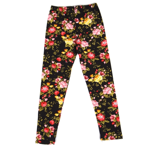 Wholesale Y00E NEW MIX Girls print leggings Blossom