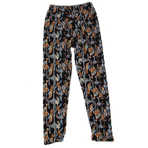Wholesale Y01D NEW MIX Girls print leggings Key