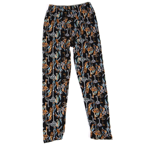 Wholesale Y01D NEW MIX Girls print leggings Key