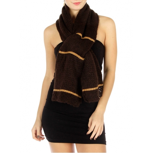 wholesale P18 Knit Band Scarf BR fashionunic fashionunic