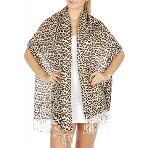wholesale D29 Leopard Print Pashmina 05 03 fashionunic