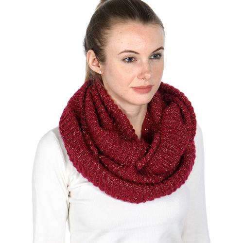 wholesale S16 Lurex knit neck warmer WN fashionunic