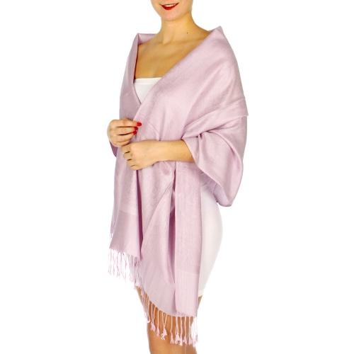wholesale D31 Whole Jacquard Pashmina 23 Lavender