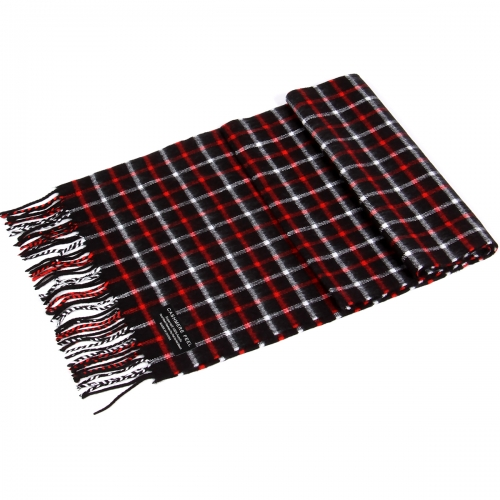wholesale O71 Red WT accent lines cashmere Scarf A09-4