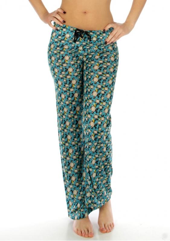wholesale K58 Monkey print cotton pajama pants Blue