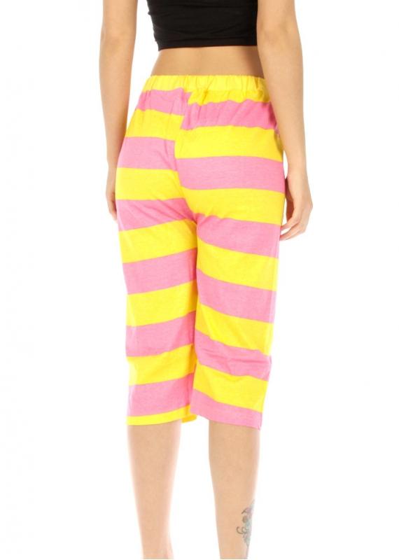 wholesale G36 Two-Tone cotton capri pajama fashionunic