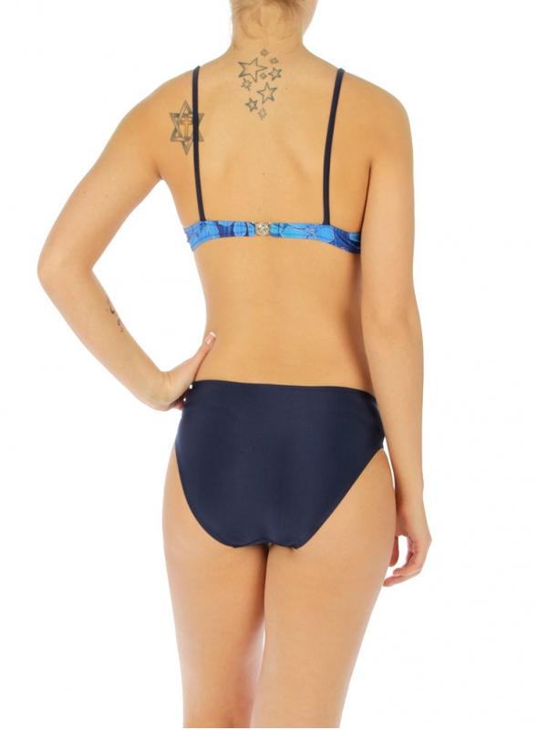 wholesale H11 Leave bikini swimsuit Blue/Navy