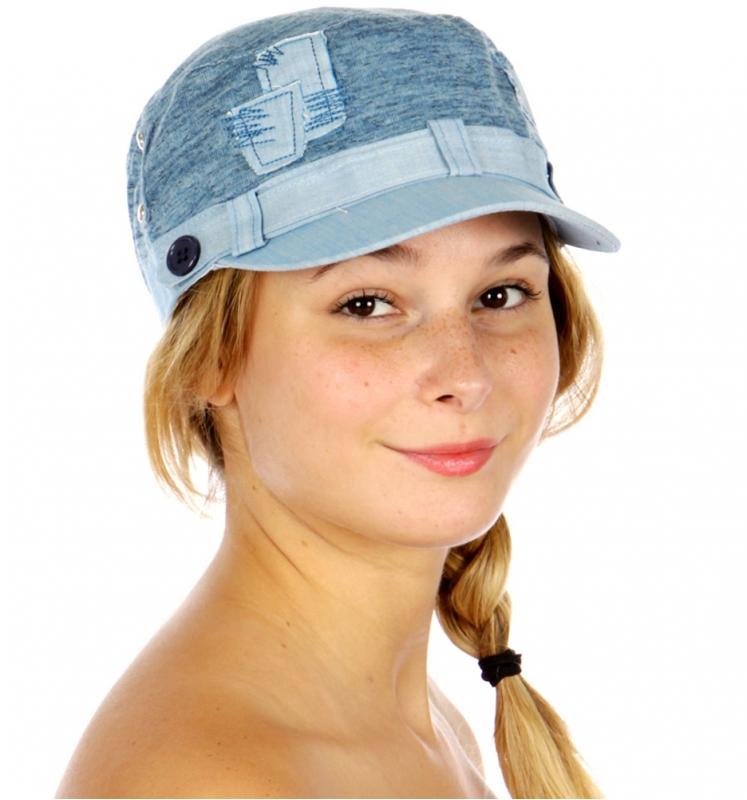 Wholesale P18D Patch Work Cadet Hat BG