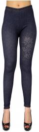 {[en]:Wholesale B01A Denim print rhinestone Leggings