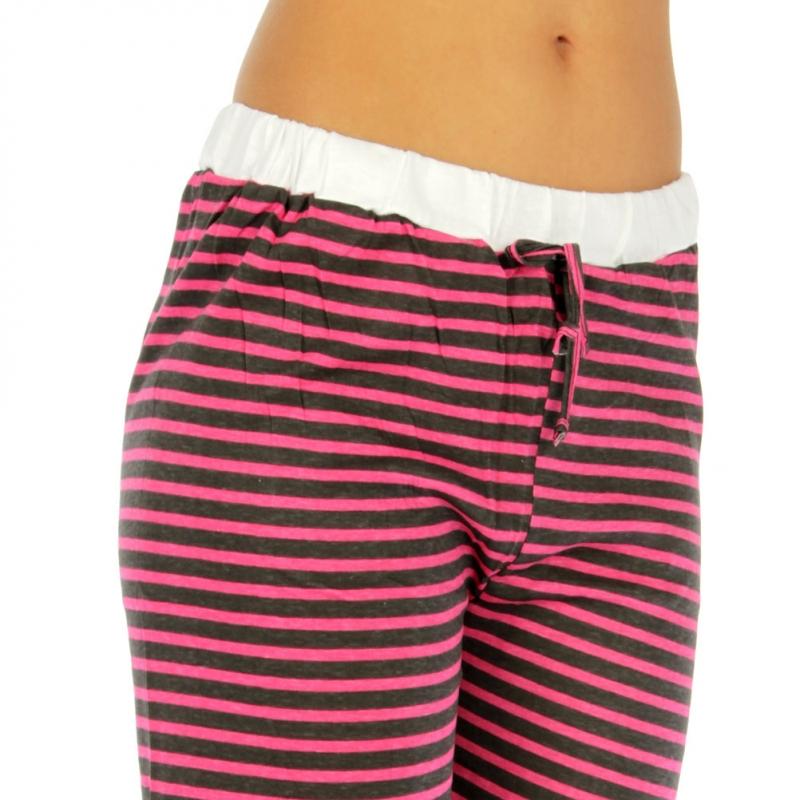 wholesale G36 Stripe cotton capri pajama fashionunic