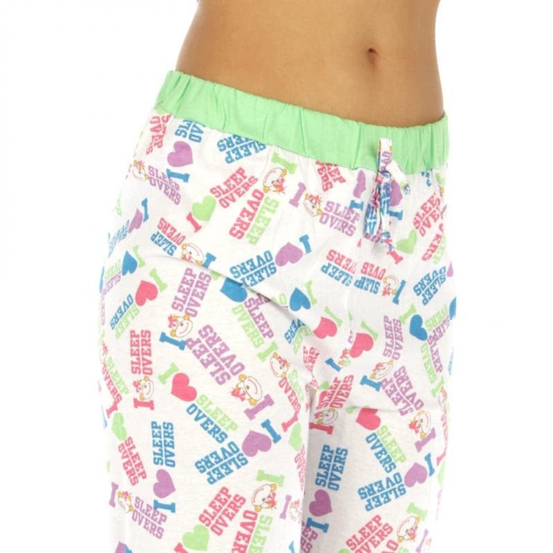 wholesale G36 Capri cotton pajama letter fashionunic