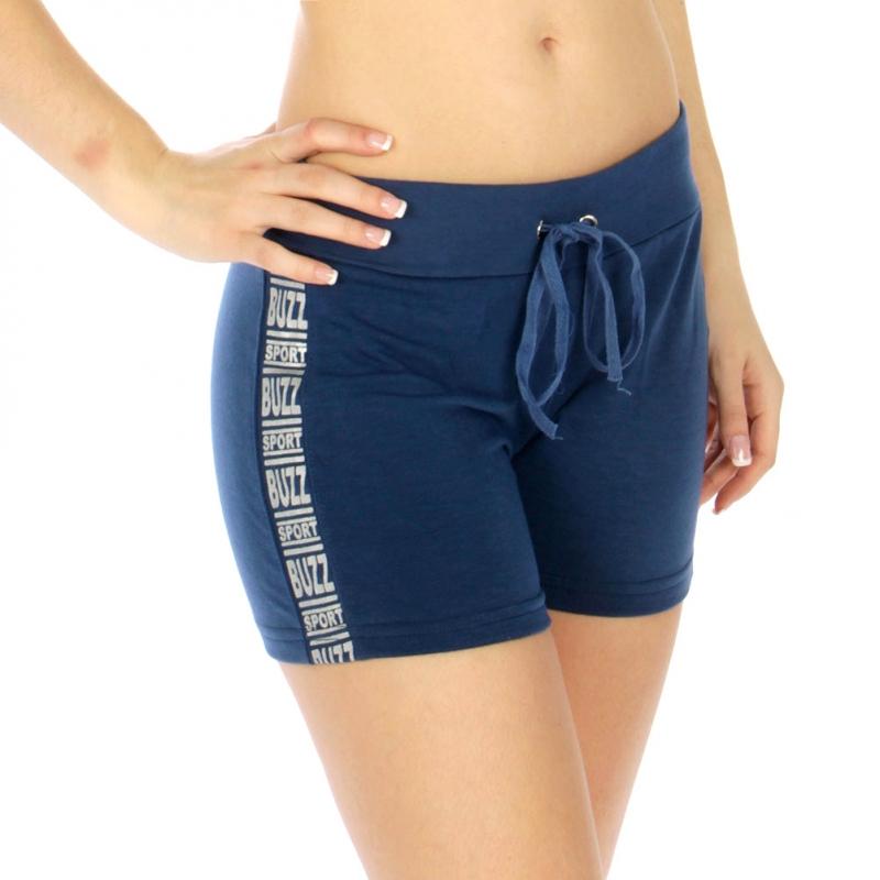 Wholesale M21 Cotton blend active shorts Buzz Fuchsia