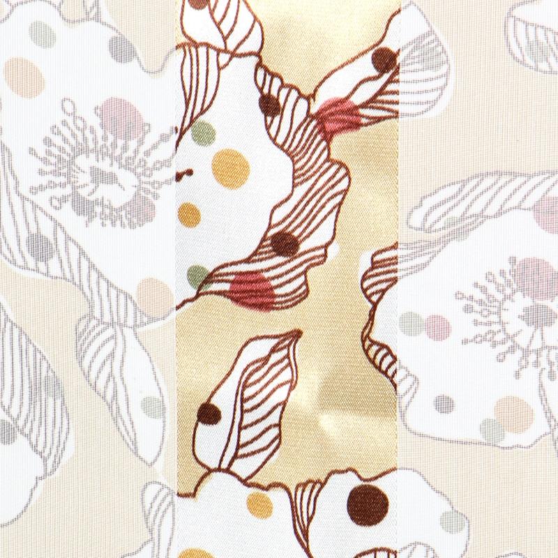 Wholesale O31B Poppy flower satin striped 21 X 21 square scarf BE