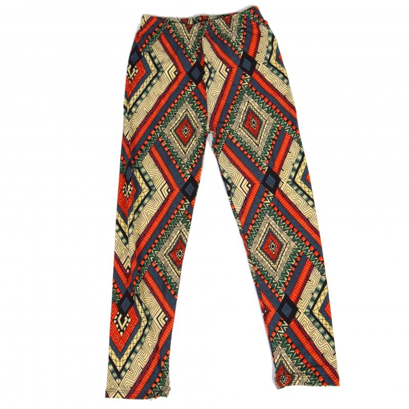 Wholesale Y01A NEW MIX Girls print leggings Pattern Diamond