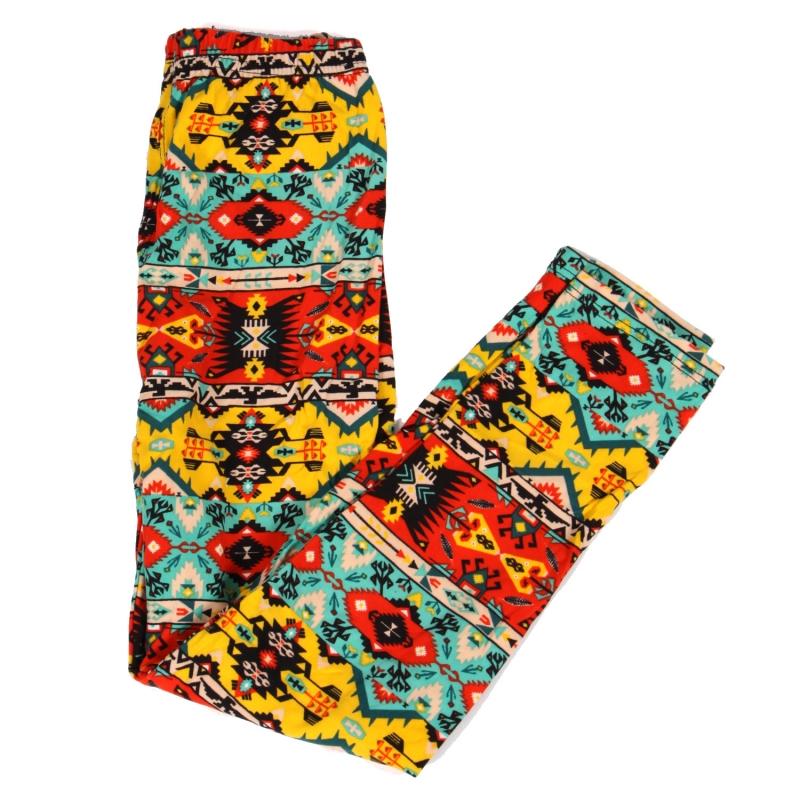 Wholesale Y01C NEW MIX Girls print leggings Coloful Tribal