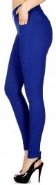 Wholesale A05A Multi pockets solid pants leggings Black