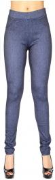 Wholesale E01B Simple jeggings Denim Grey