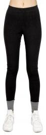 wholesale L43 Ankle accent cotton leggings Black