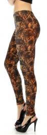 wholesale B05 Mystical pattern velour leggings S
