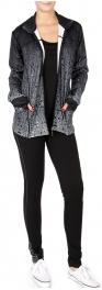 Wholesale O52B 3 piece activewear set Gradation Black