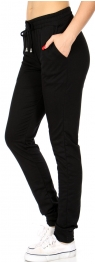 Wholesale B11 French Terry Jogger Black