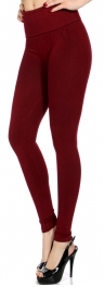 Wholesale E08 Empire waist compression leggings
